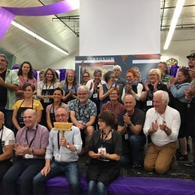 The 34 artists of Symposium de peinture de Baie-Comeau 2019